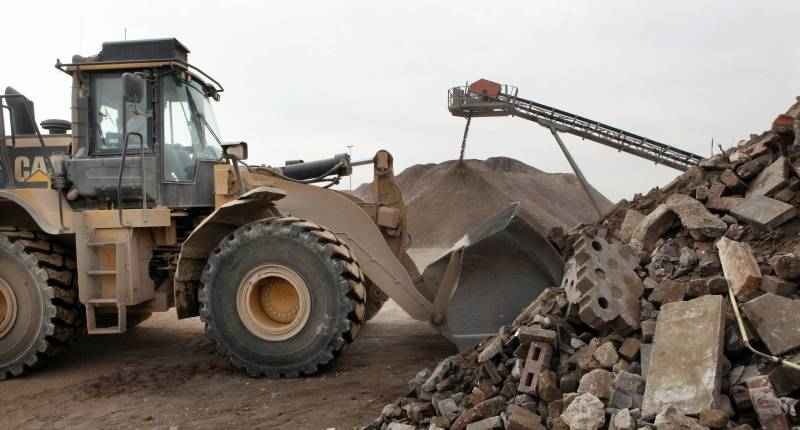 Puin verwerking   Baars recycling