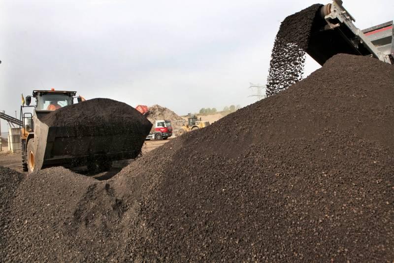 Asfaltgranulaat | Baars Recycling